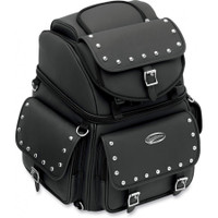 Saddlemen BR3400EX Combination Studded Sissy Bar Bag-1