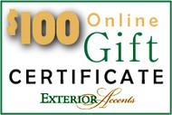 $100 Online Gift Certificate