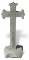 "23rd Psalm Cross Obelisk (25""H)"