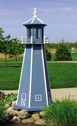 Painted Lighthouse (3')