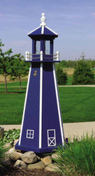 Painted Lighthouse (4')