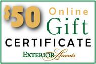 $50 Online Gift Certificate