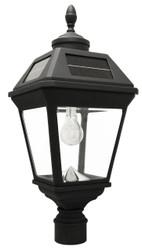 "Acorn Finial Imperial Solar Lantern 3"" Post Fitter"
