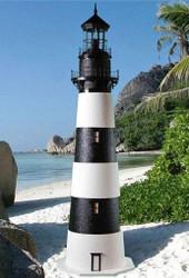 Bodie Island Stucco Lighthouse (8')
