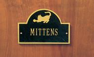 Personalized Cat Memorial Plaque