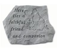 Cat Memorial Stone