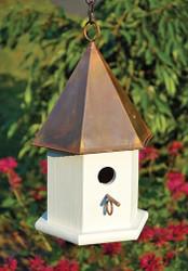 Heartwood Copper Songbird Birdhouse