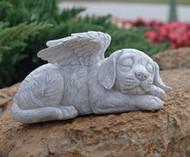 Dog Memorial Angel Pet Statue