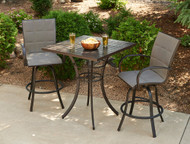 3 pc. Square Pub Table - Empire Collection