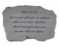 Family Member Our Hearts Still Ache Memorial Stone