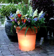 GardenGlo Illuminated Solar Planter
