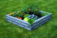 Garden Wizard Raised Garden Bed With Soaker Hoses