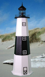 Montauk E-Line Stucco Lighthouse (3')