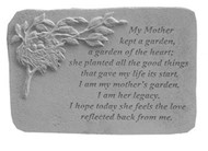 My Mother Kept...w/Birds Nest Memorial Stone