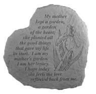 My Mother Kept a Garden... Memorial Stone