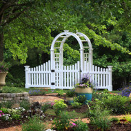Cottage Picket Arbor Wings (Set of 2)
