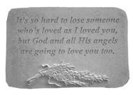 It's So Hard...w/Rosemary Memorial Stone