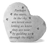 Perhaps The Stars In The Sky... Memorial Stone