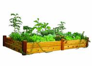 Raised Garden Bed 48x95x13 Safe Finish