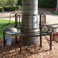 Roundabout Steel Garden Bench