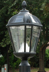 "Royal Solar Lamp 3"" Post Fitter"