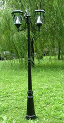 Solar Lamp Post (Two Lamps)