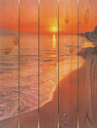 Sunset Beach Wall Art