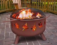 Tree Leaves Firepit