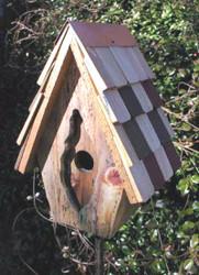 Vintage Wren Birdhouse