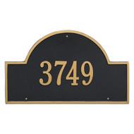 Arch Address Plaque 24L x 14H (1 Line)