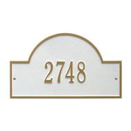 "Arch Marker Address Plaque 16""W x 9""H (1 Line)"
