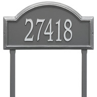 Providence Arch Address Lawn Plaque 23Lx12H (1 Line)