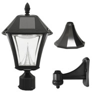 Baytown II Solar Outdoor Light with 3 Mounting Options