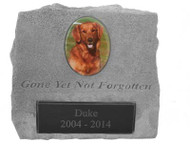 Gone Yet Not Forgotten Personalized Photo Memorial Urn