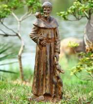 "Saint Francis and Companions Sculpture 29""H"