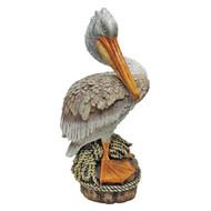 "Ocean Side Pier 51 Pelican Statue 15""H"
