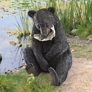 "Expert Fisherman Bear Statue 23""H"