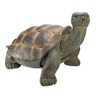 "The Elephant Tortoise Statue 30""W"