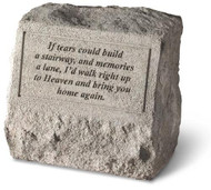If Tear Could Build a Stairway Memorial Stone with Urn