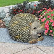 Humongous Hedgehog Garden Statue