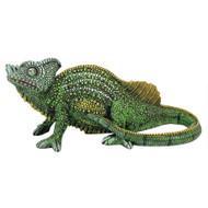 """Veiled Chameleon Garden Statue 14""""W"""