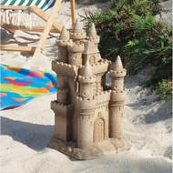 """Castle by the Sea Sculpture 19.5""""H"""