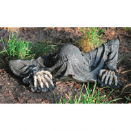 """The Creeper from the Grave Statue 14""""W"""