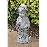 "Baby Saint Francis Sculpture 23.5""H"