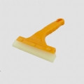 """5.5"""" PU Blade Squeegee w/Yellow Plastic Handle"""