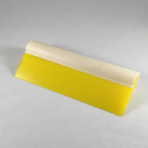 """5.5"""" Yellow Turbo Squeegee - Tube Handle & Blade"""