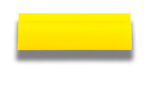 """5.5"""" Yellow Turbo Squeegee - Blade Only"""