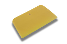 "4"" Bondo Flat Squeegee - Yellow"