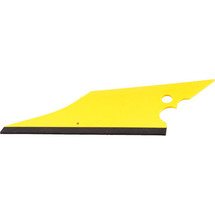 Conqueror Squeegee - White Strip & Yellow Body