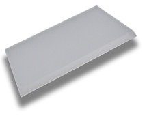 """5"""" Super Clear Max Squeegee - Angled & Beveled Edge Tip Blade Only"""